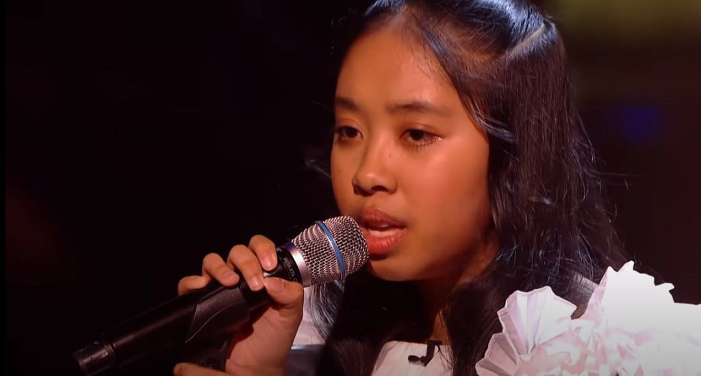 Justine Performs 'One Moment In Time' | The Semi Final | The Voice Kids UK 2020