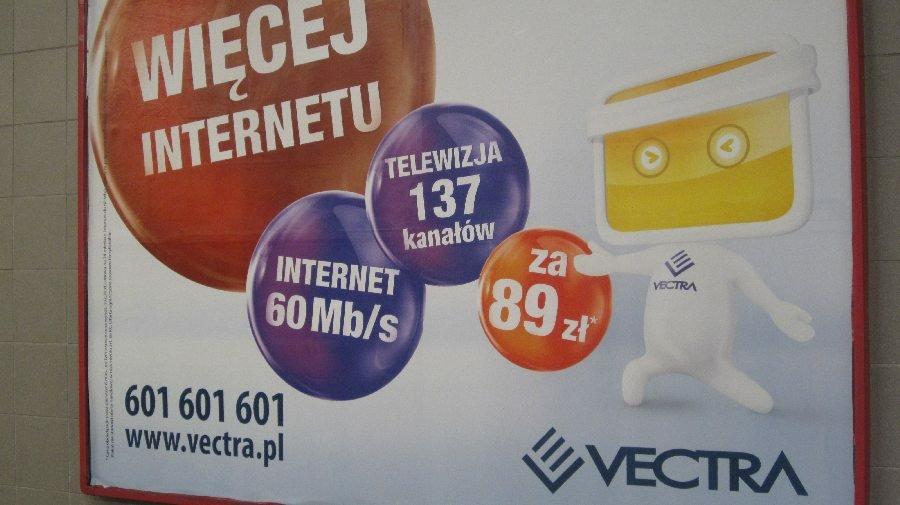 Reklama Vectry