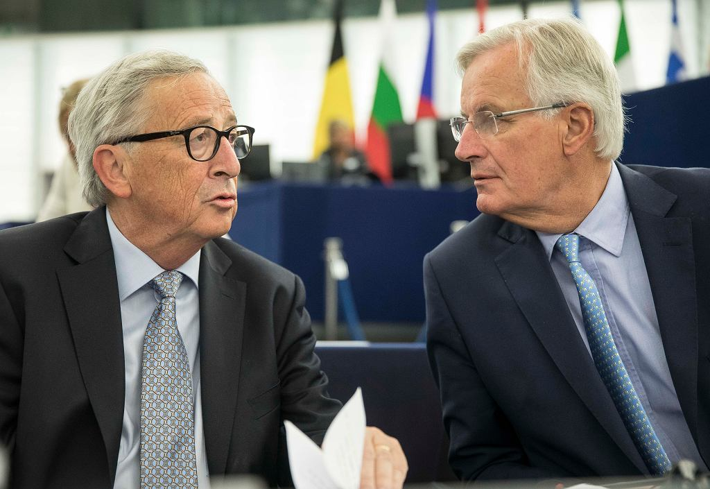 Jean-Claude Juncker i Michel Barnier