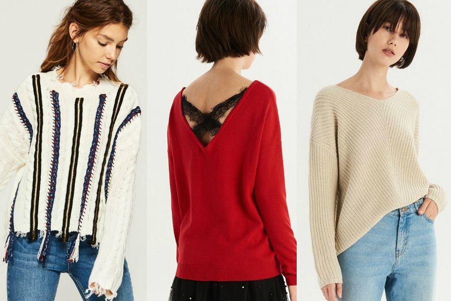 Sinsay na w swojej ofercie swetry zarówno dla fanek minimalizmu jak i modnych wzorów
