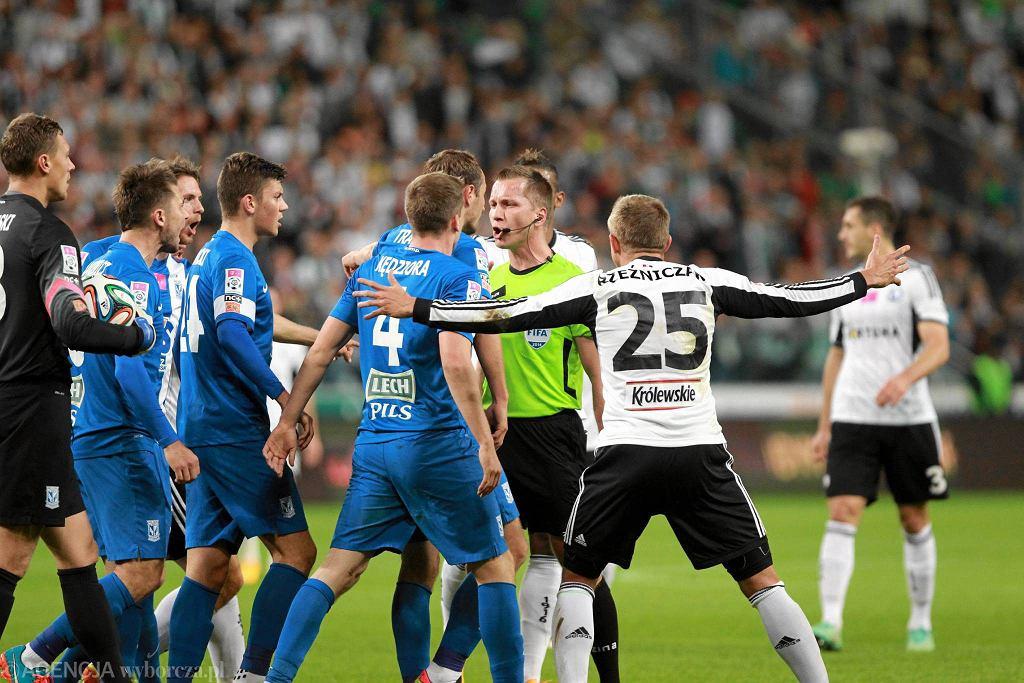 Wrzesień 2014 i remis 2:2 na stadionie Legii.