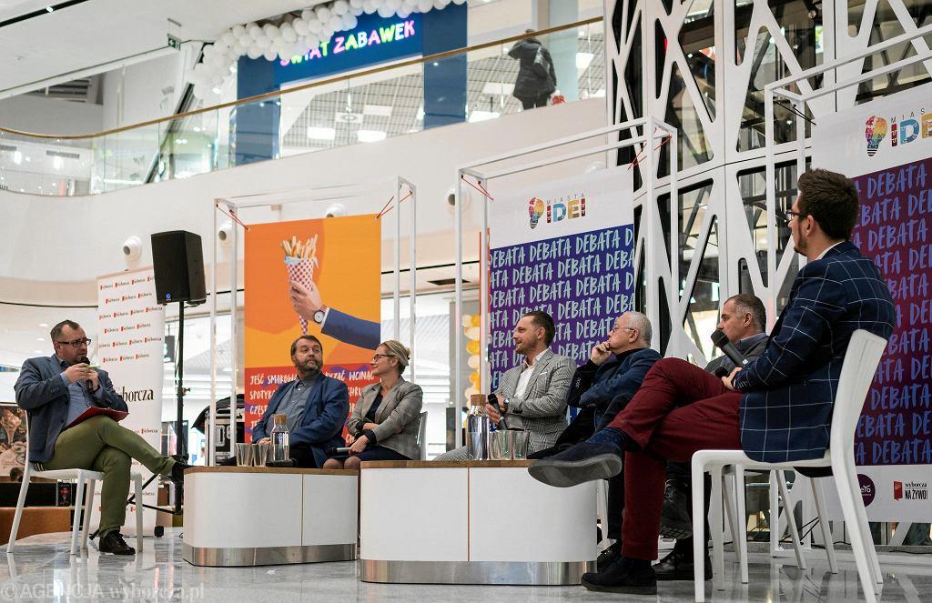 Debata z cyklu 'Miasta Idei' w Libero Katowice