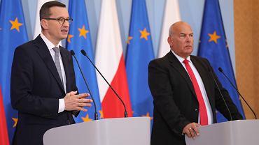 =Konferencja premiera i ministra finansw po posiedzeniu rzadu
