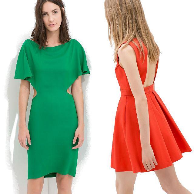 Zara: sukienki na lato