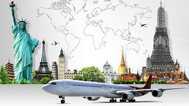 Internetowe wyszukiwarka połączeń lotniczych pozwalają znaleźć najtańsze bilety lotnicze niemal do każdego miejsca na świecie