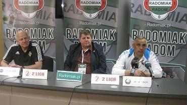 Konferencja prasowa po meczu Radomiak vs Stal Mielec