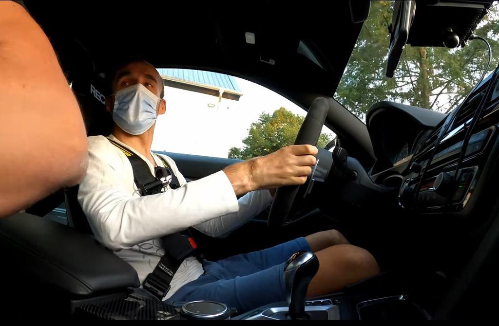 Robert Kubica za kierownicą BMW M4