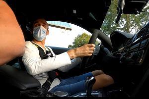 BMW M4, którym szalał Robert Kubica, trafiło do mechanika. Ten miał pełne ręce roboty