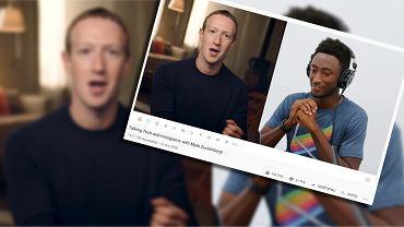 Marck Zuckerberg w rozmowie z Marqueesem Brownlee