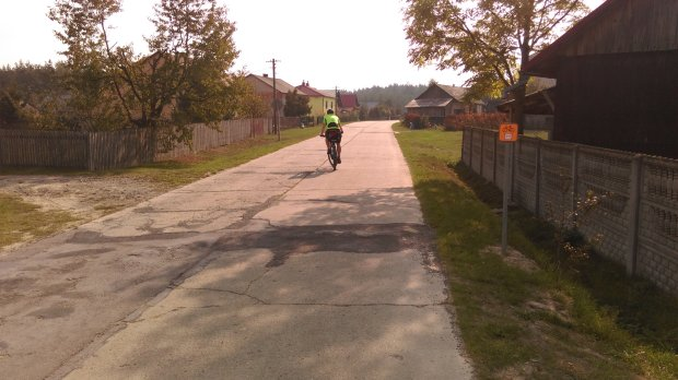 droga płytowa szlaku Green Velo