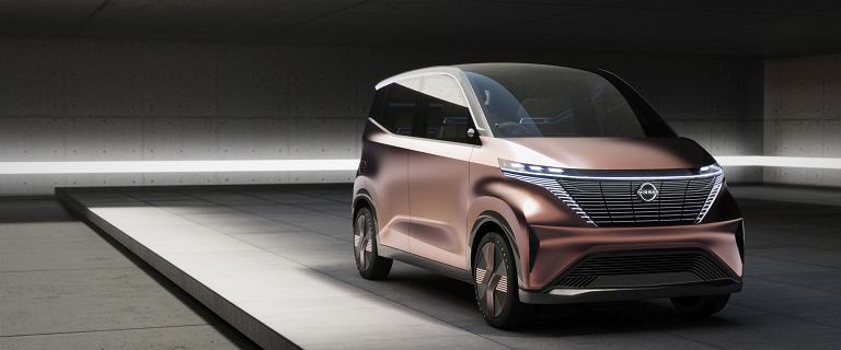Koncepcyjny Nissan IMk - kosmiczny mieszczuch jest autonomiczny, elektryczny i naszpikowany technologiami