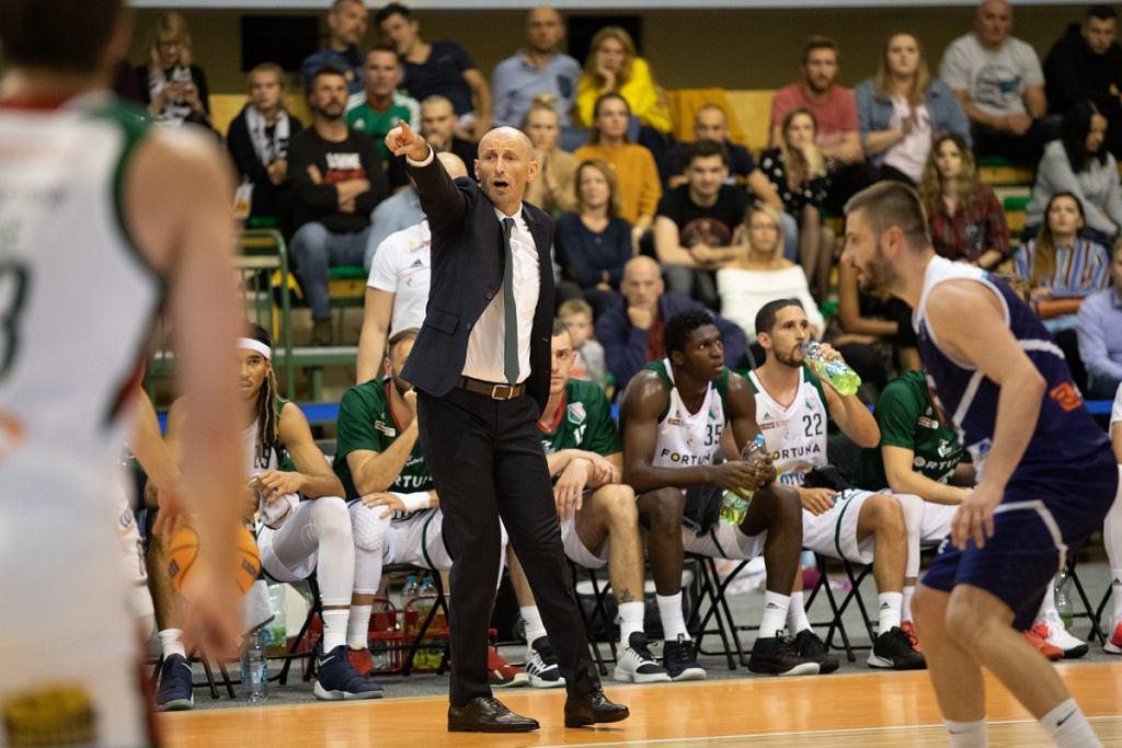 Tane Spasev, trener koszykarskiej Legii