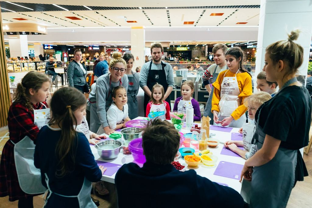 Arkadia na Widelcu, czyli warsztaty kulinarne dla dzieci i młodzieży