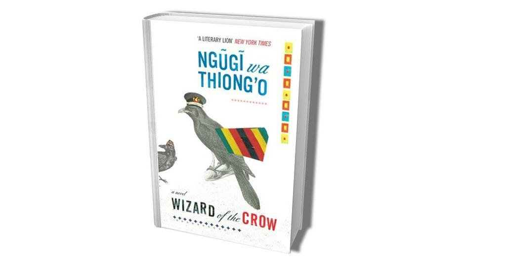 Okładka pierwszego anglojęzycznego wydania książki 'Wizard of the Crow'