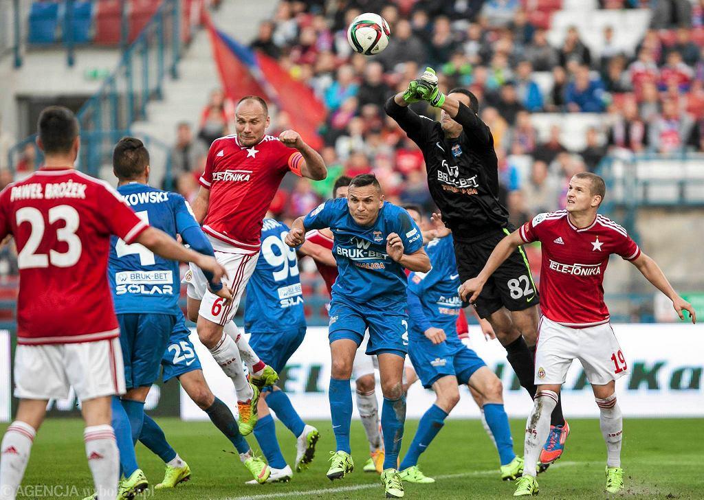 Sebastian Nowak strzela gola