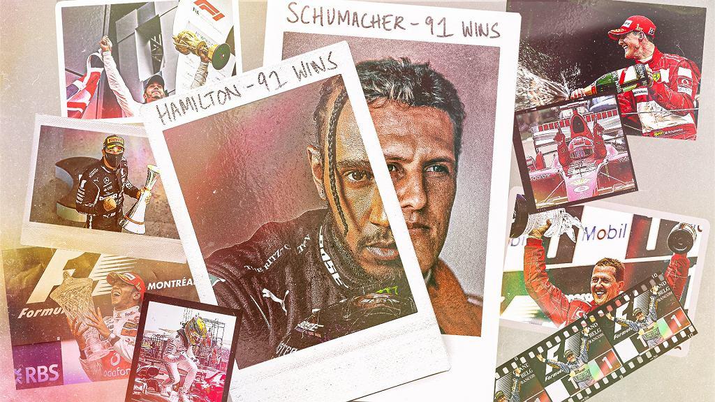 Lewis Hamilton wyrównał rekord Michaela Schumachera
