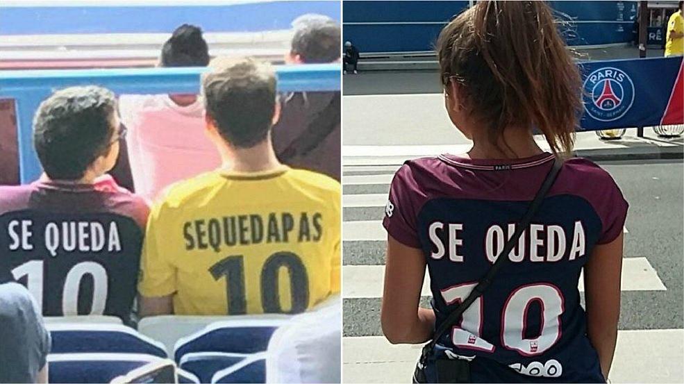 Koszulki Se Queda Neymar