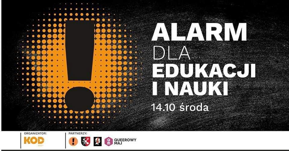 14 października w całym kraju KOD oraz inne organizacje zajmujące się edukacją organizują protesty przeciwko powołaniu Przemysława Czarnka na ministra edukacji i nauki