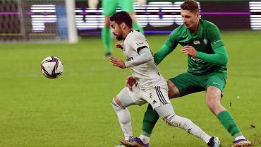 Mecz ekstraklasy Legia - Warta