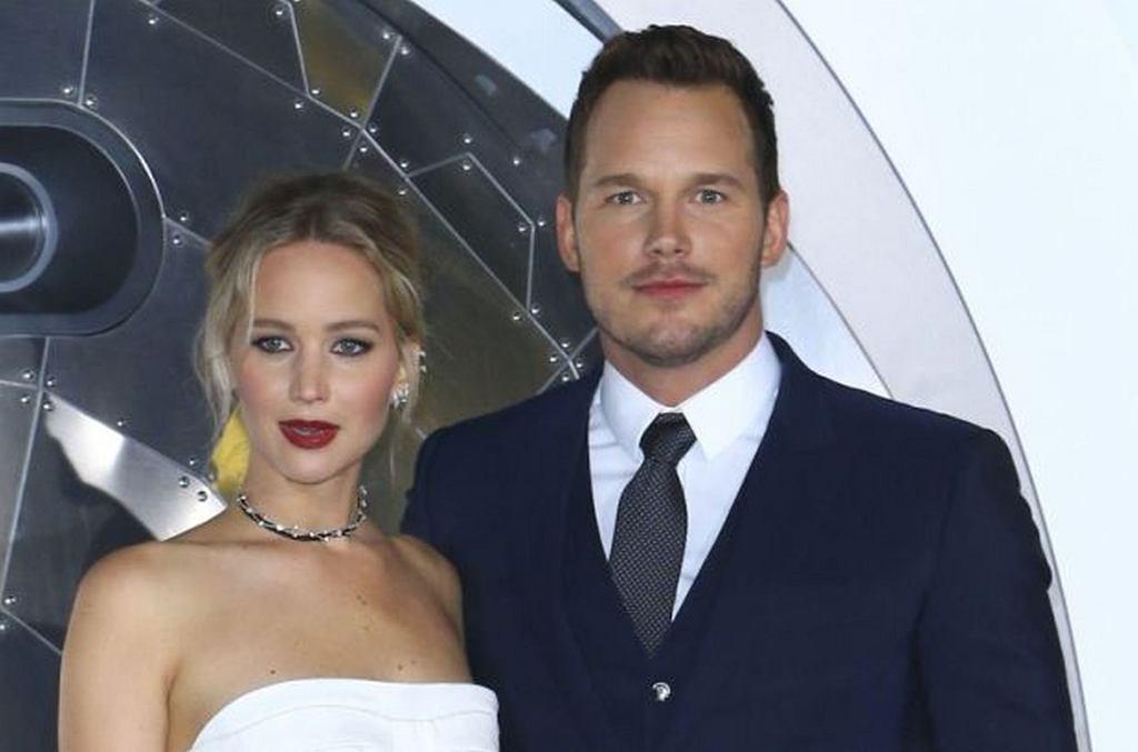 Jennifer Lawrence i Chris Pratt