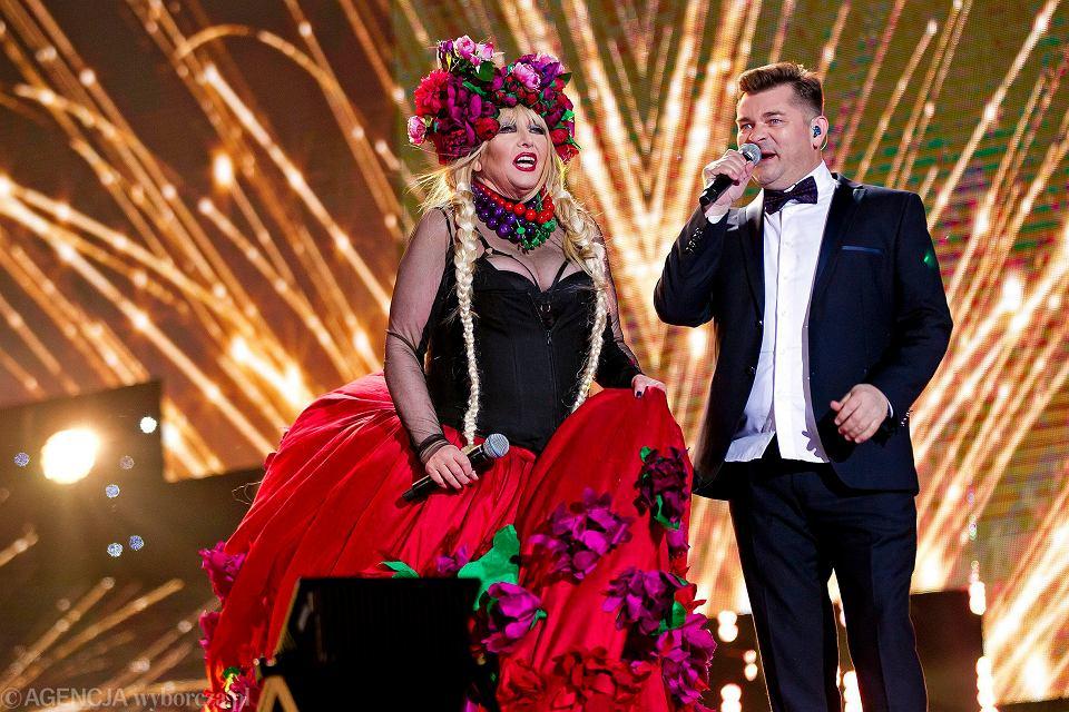 Maryla Rodowicz i Zenek Martyniuk na Sylwestrze TVP2
