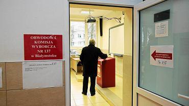 Obwodowa komisja wyborcza w Białymstoku