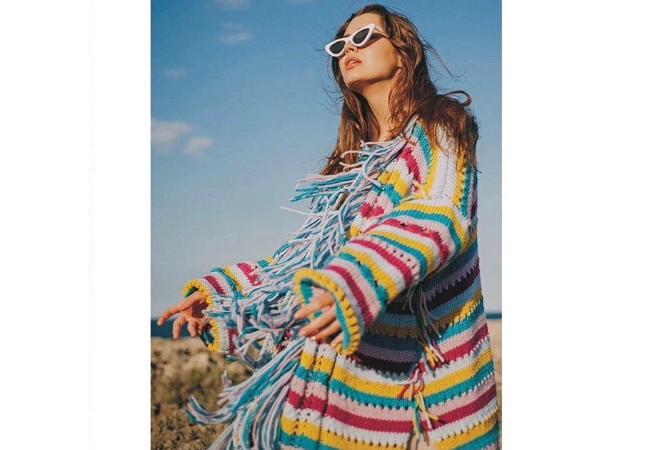 Sweter z kolekcji Katarzyny Szymańskiej