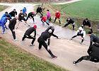 Trenują przed maratonem w stolicy. 67-letni pan Józef też [FOTO, WIDEO]