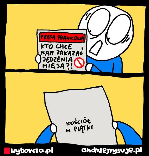 Andrzej Rysuje   MIĘSO - Andrzej Rysuje   MIĘSO -