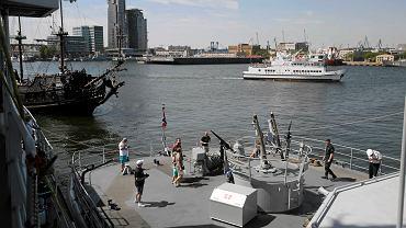 W porcie w Gdyni można było zwiedzać okręty wojenne NATO. Okręty biorą udział w ćwiczeniach na Bałtyku - Baltops 2015.