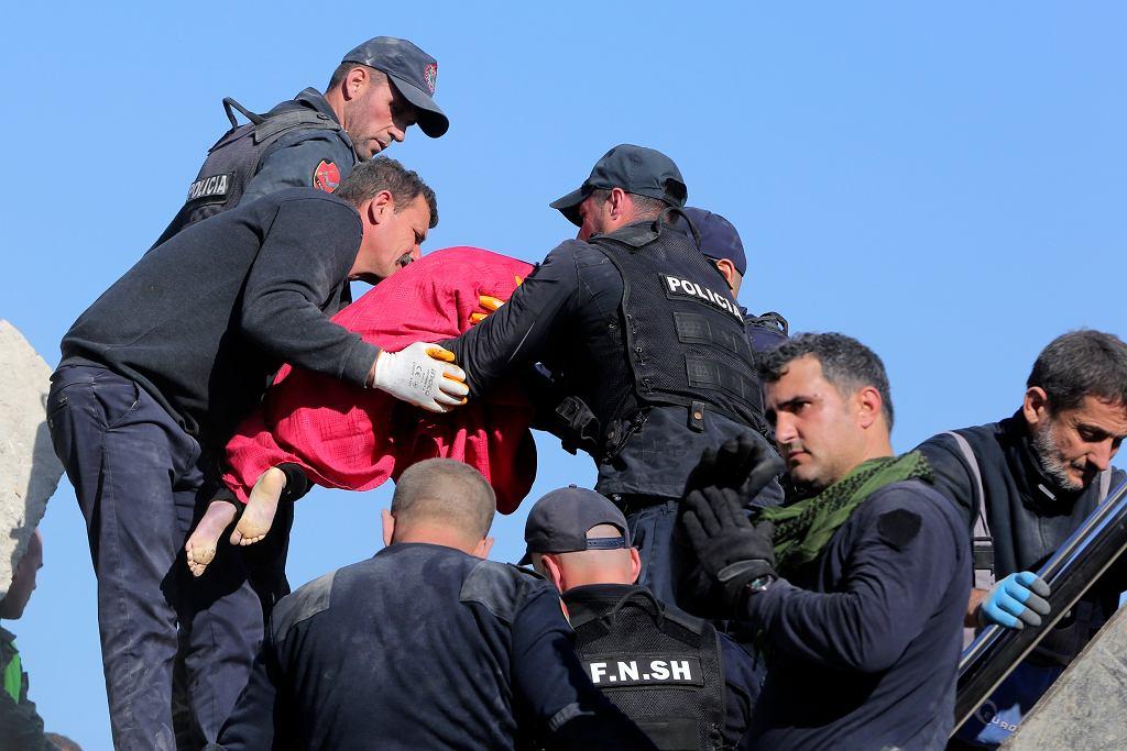 Najsilniejsze od 30 lat trzęsienie ziemi w Albanii
