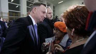 %Prezydent RP Andrzej Duda w Brojcach