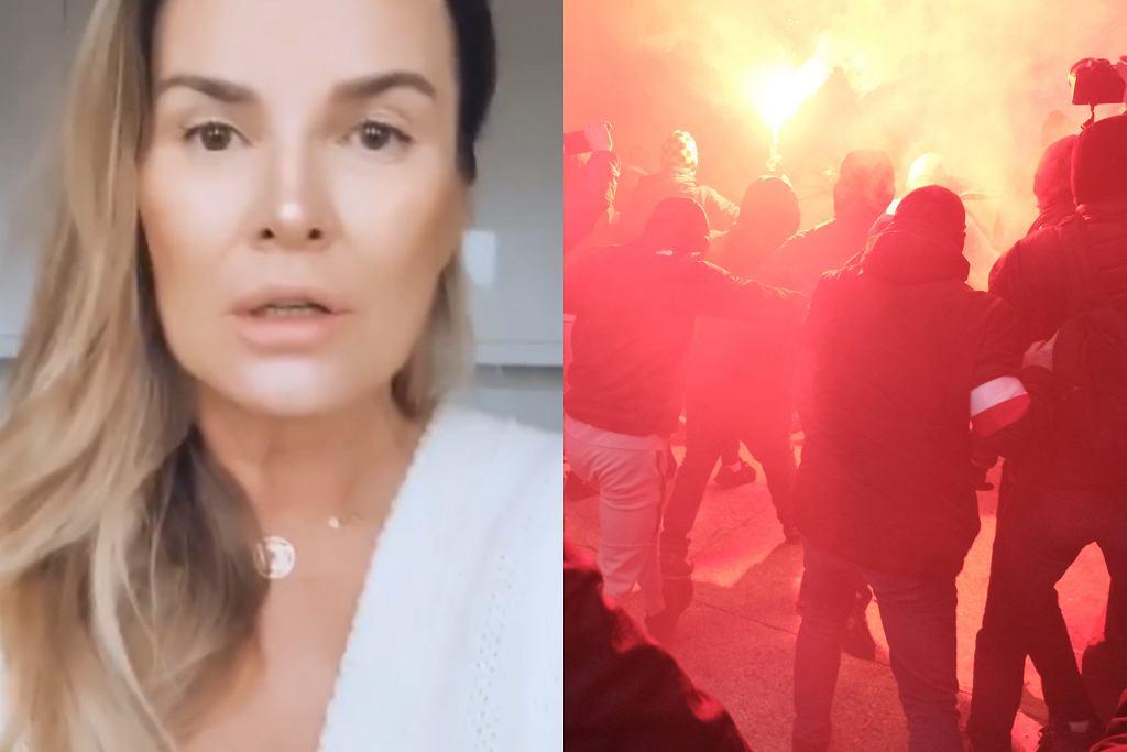 Hanna Lis komentuje zamieszki na Marszu Niepodległości