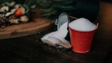 Domowy peeling cukrowy.