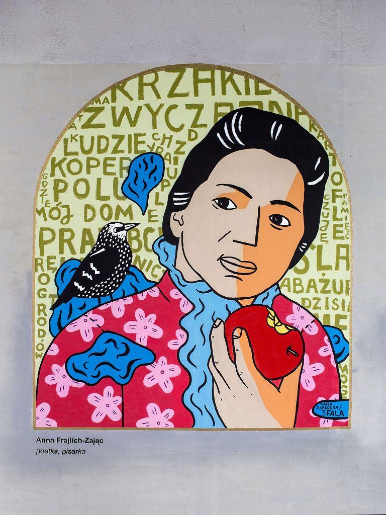 Galeria 'Witamy w domu' przy Dworcu Gdańskim w Warszawie / M. Starowieyska / Muzeum Historii Żydów Polskich
