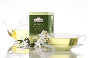 Jaśminowy romans - subtelny smak zielonej herbaty z kwiatem jaśminu