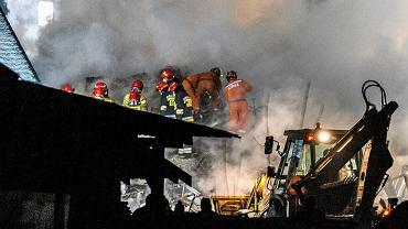 Wybuch gazu w Szczyrku. Nocna akcja ratunkowa