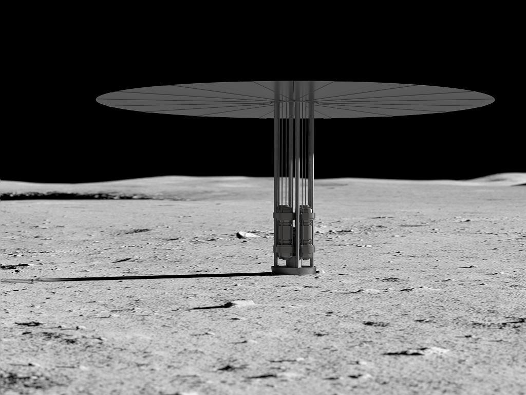 Projekt elektrowni jądrowej NASA na Księżycu