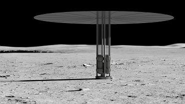NASA wybuduje małą elektrownię atomową na Księżycu. Pierwszy reaktor miałby stanąć już za 6 lat