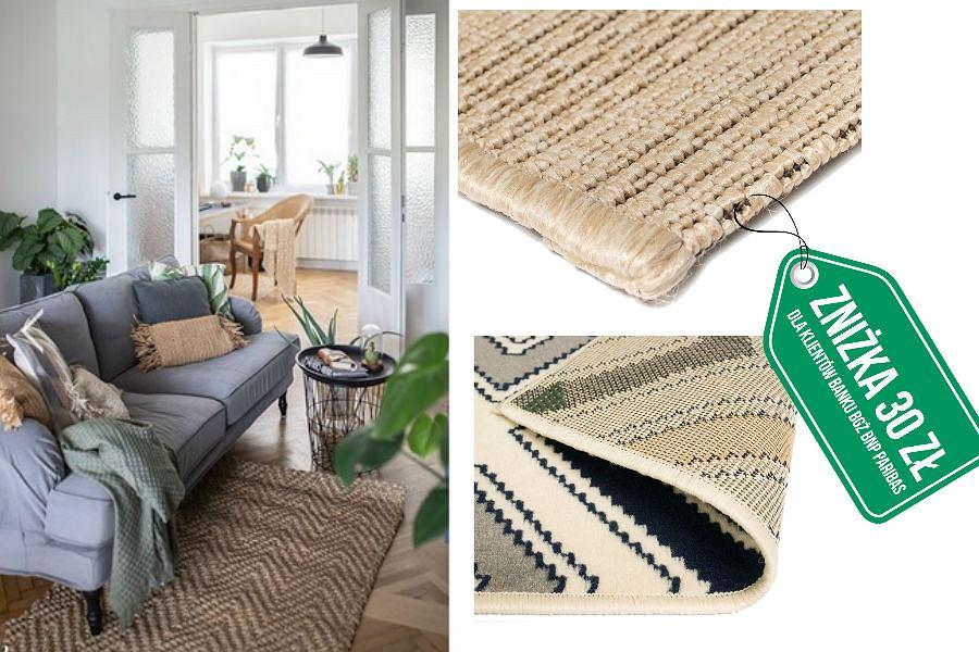 Modne dywany w naturalnych kolorach