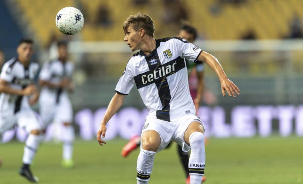 Adrian Benedyczak, Parma, Serie A. Źródło: Twitter