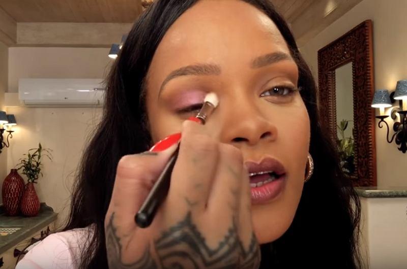 Tutorial codziennego makijażu Rihanny