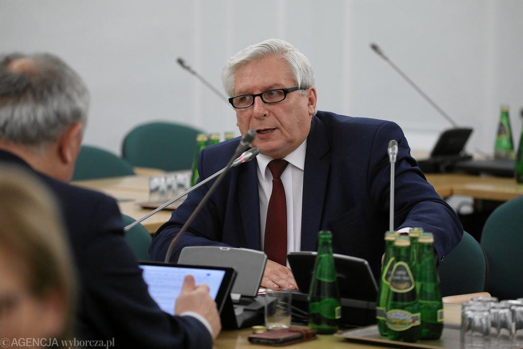 Poseł Tadeusz Woźniak