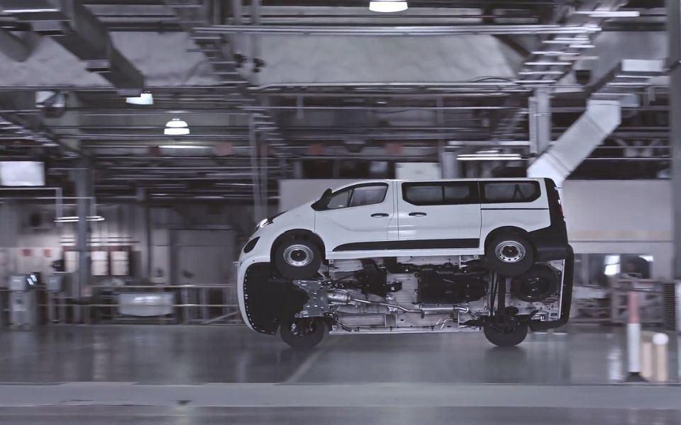 Vauxhall Vivaro Stunt