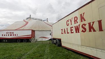 Cyrk Zalewski na krakowskich Błoniach