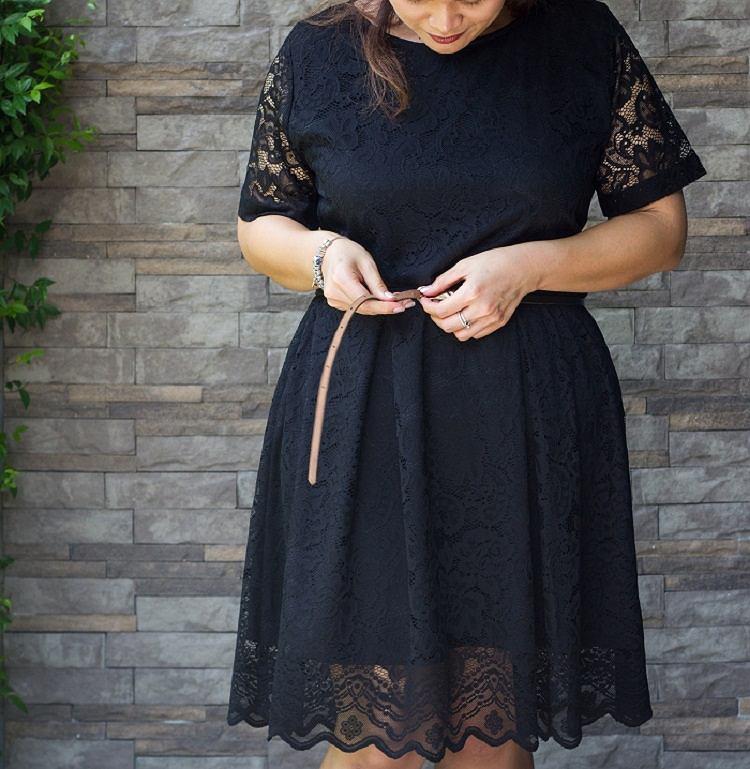Sukienki wizytowe dla puszystych