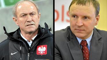 Franciszek Smuda i Jacek Kurski