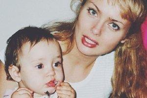 Izabela Scorupco z córką Julią