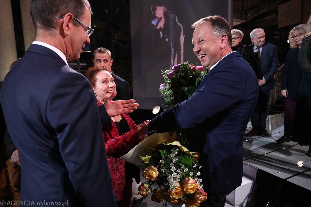 Cezary Łazarewicz - laureat Nagrody Literackiej 'Nike' 2017 / Fot. Sławomir Kamiński / Agencja Gazeta