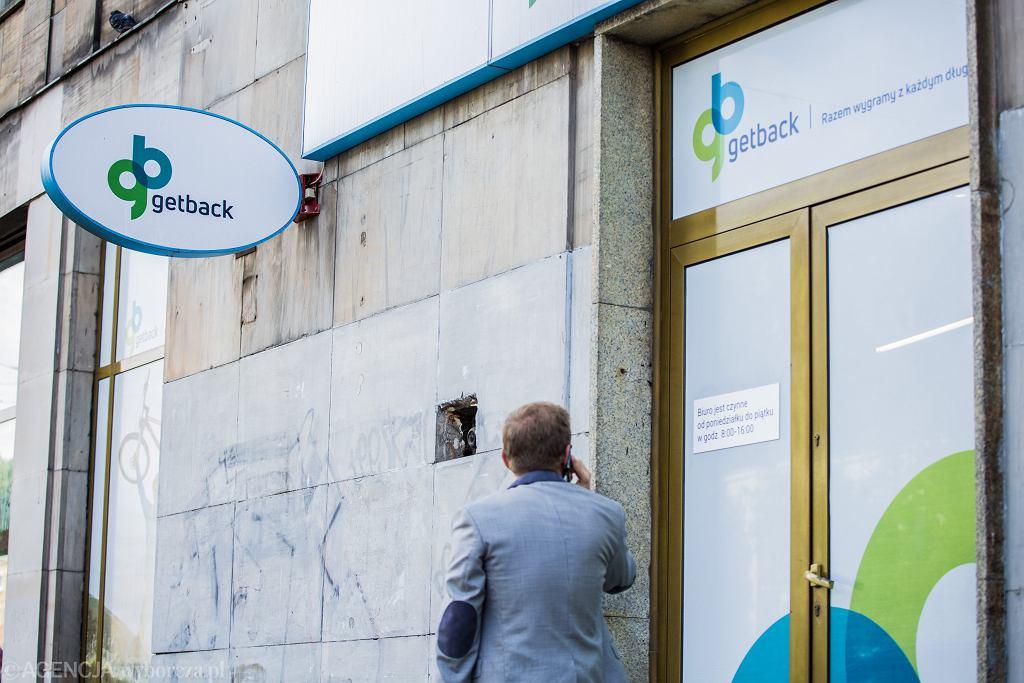 Zamknięty oddział firmy GetBack